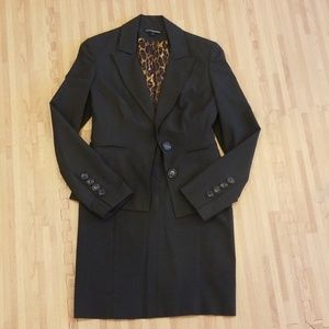 Express suit and skirt set size 0